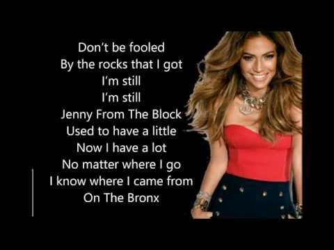 Jenny from the block lyrics