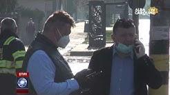 Primarul din Sebeș, a ieșit să spele străzile