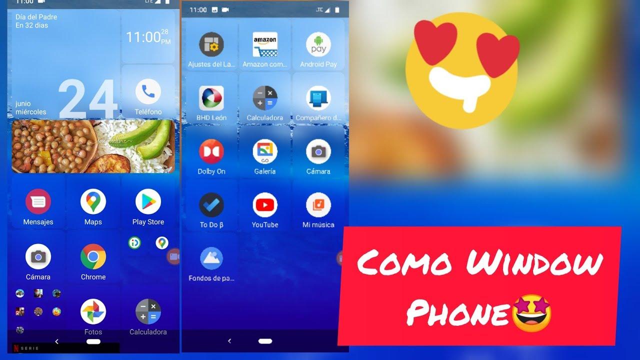 Brutal tema para tu android, apariencia Windows mobile