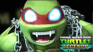 Черепашки Ниндзя Легенды 340 СЦЕНЫ НАСИЛИЯ Испытания игра для телефона TMNT Legends