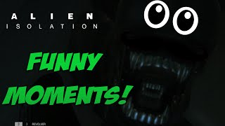 Alien Isolation Funny Moments! (Freakouts and Jumpscares)