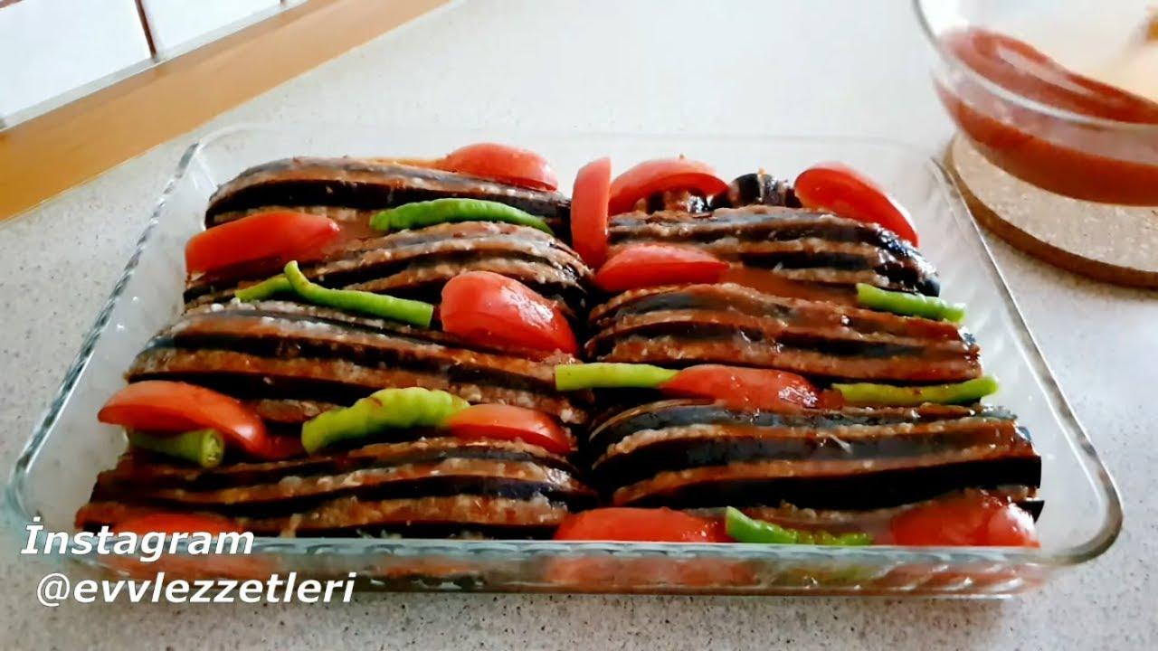Bu Nefis Yemek Tarifi Kaçmaz !! Dilik Patlıcan Kebabı tarifi / Yelpaze Kebabı / Ev Lezzetleri