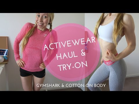 Activewear Haul Try
