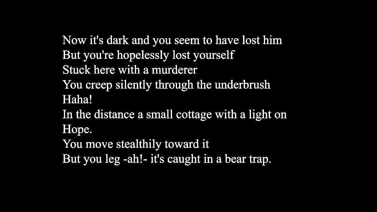 Actual Cannibal Shia LaBeouf- Rob Cantor Live Lyrics - YouTube