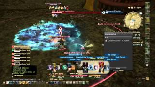 FINAL FANTASY XIV,HW Regula Van Hydrus fight.