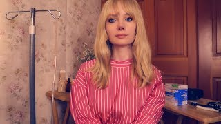 Hospital Volunteer Practices on You 🎀 ASMR Hospital Medical