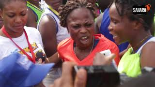 Controversy: Female Athlete Assaulted And Denied Prize After Finishing Lagos City Marathon
