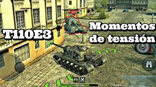 World of Tanks Blitz    T110E3   Cuidado!!! Que tienes atrás al Jg.Pz. E100