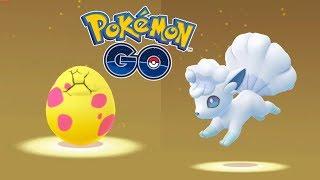 ABRIENDO HUEVOS REGIONALES/ALOLA! AL FIN VUELVE A SALIR VULPIX ALOLA! [Pokémon GO-davidpetit]