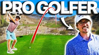 I Challenged A Pro Golfer To A 9 Hole Match... Did I Win?!