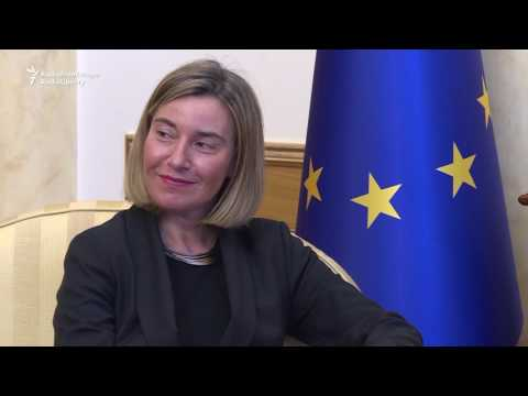 EU Foreign Policy Chief Meets With Kosovo Leaders
