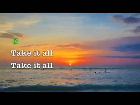 My heart is Yours /All to Jesus (lyrics & chords)  Kristian Stanfill