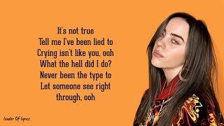 Billie Eilish - i love you (Lyrics) 😪