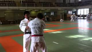 Practice Shiai at Kodokan -81 kg vs. -100 kg