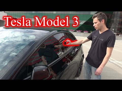 TESLA MODEL 3. My First Drive and the Exterior of the Car!