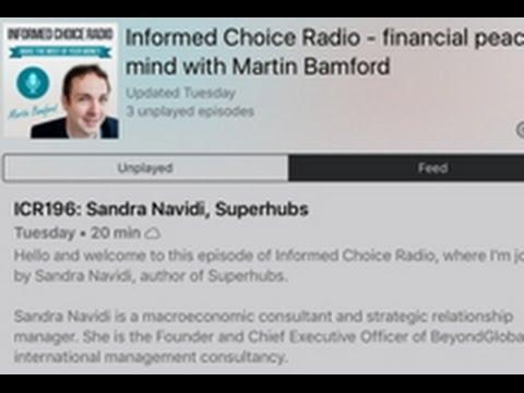 Sandra Navidi: Finanzexpertin Street Sandra Navidi zu Donald Trumps Russland Verbindungen