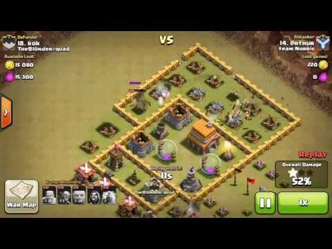 [How To CoC Raiding 3] Importance Of Luring Clan Castle Troops