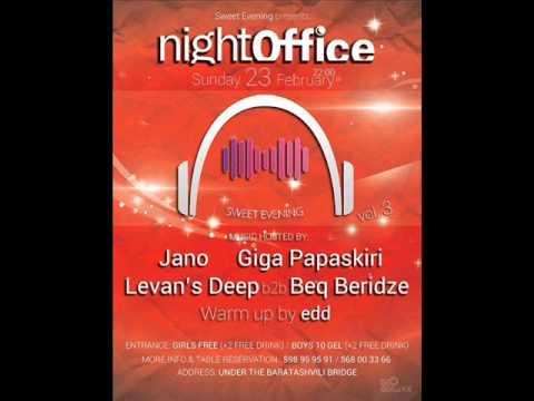 Sweet Evening Vol.3 @ Night Office (Mixed By Giga Papaskiri)