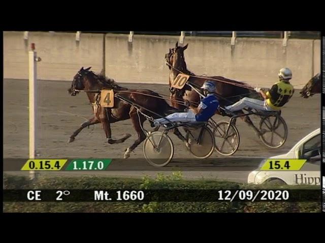 2020 09 12 | Corsa 2 | Metri 1660 | Premio Palio Di Cesena