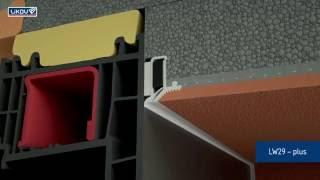 Napojení omítek na rámy oken a dveří
