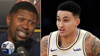 the lakers dont just have lebron and ad they also have kyle kuzma jalen rose jalen jacoby