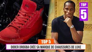 TOP 5 - Didier Drogba crée sa marque de chaussures de luxe