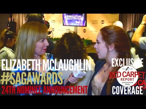 Elizabeth McLaughlin ed at the 24th Annual SAG Awards Nominations