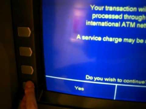 香港でHSBCのATMで香港ドルを下ろしてみる
