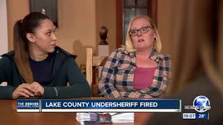 Lake County undersheriff was fired; sheriff