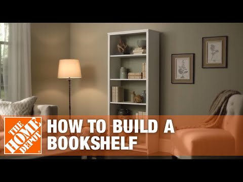 DIY Bookshelf – Simple Wood Projects | The Home Depot