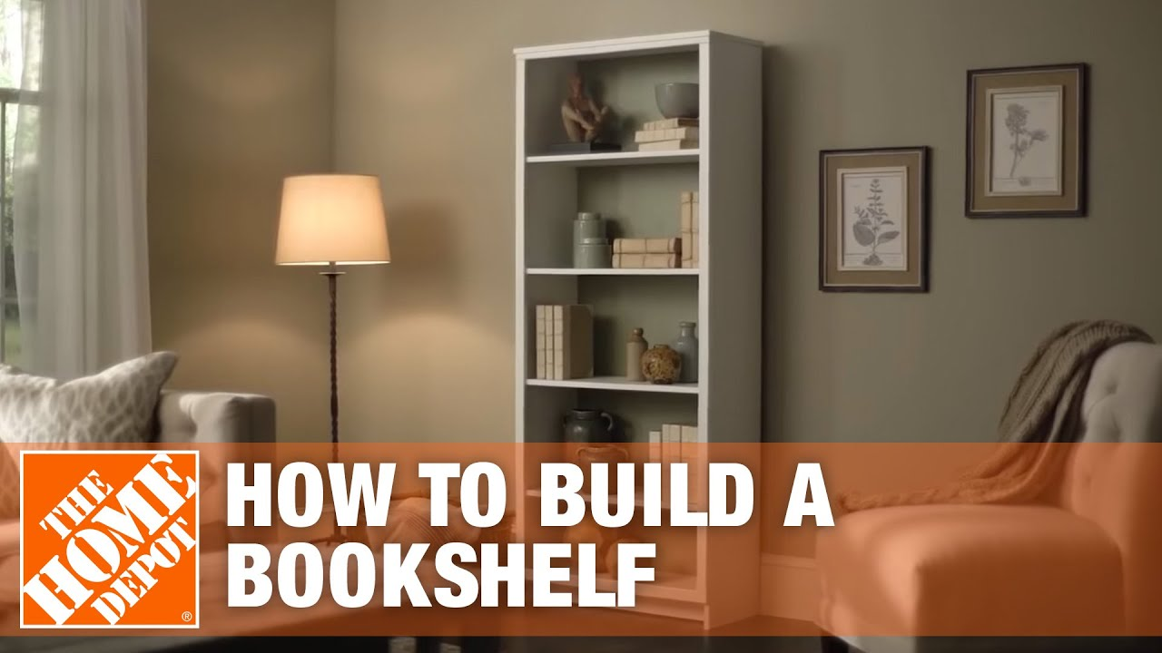 How To Build A Bookshelf The Home Depot