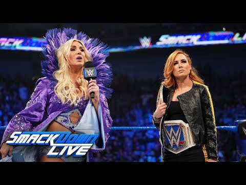 Becky Lynch and Charlotte Flair come face to face: SmackDown LIVE, April 23, 2019