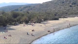 Греция Крит пляж Вай Greece Crete Vai 14 05 12(, 2012-12-22T00:02:36.000Z)