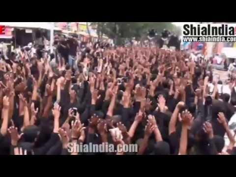 20th Ramzan Matami Juloos Shahadat-e-Hzt Ali (a.s) From Charminar 1437-2016