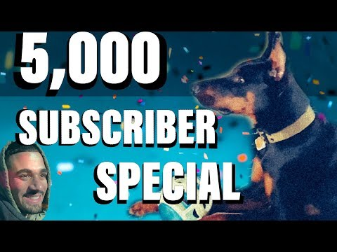Hiking With My Doberman (5,000 Subscriber Special) | Derek554