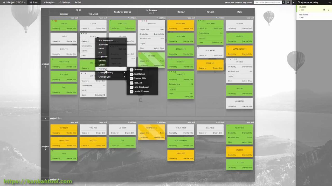 Kanban Tool Sharing Project Boards Kanbantool Com