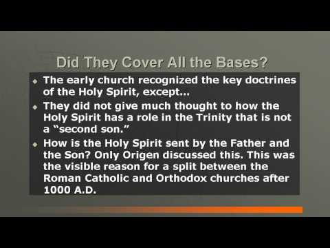 EARLY CHRISTIAN CHURCH HISTORY #8: THE HOLY SPIRIT & THE WORKING OF GOD