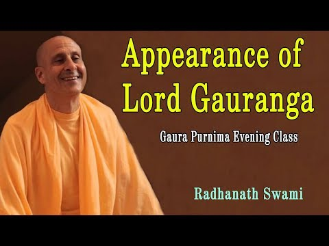 Gaur Purnima | Special Evening Class - Appearance of Lord Ga