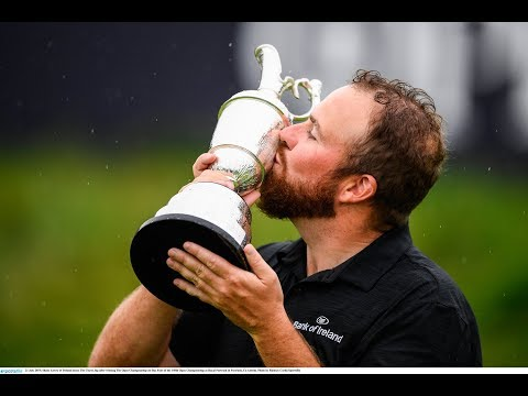 Shane Lowry's Glory Day, Offaly Proud Parents And Golf Country | The Newsround
