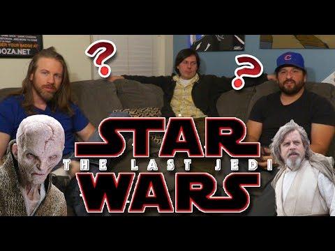 The Last Jedi First Impressions (Spoilers)