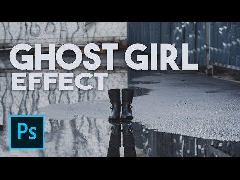 Ghost Girl Photoshop Tutorial (Photoshoot BTS) thumbnail