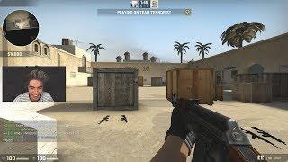 CS:GO GLOBAL ELITE 1V1s ME FOR A KNIFE