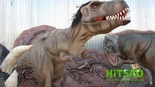 Парковые фигуры Динозавров - ландшафтный дизайн(, 2015-09-24T06:10:32.000Z)