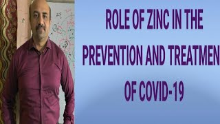 COVID-19::Role Of Zinc In The Prevention And Treatment of COVID-19.