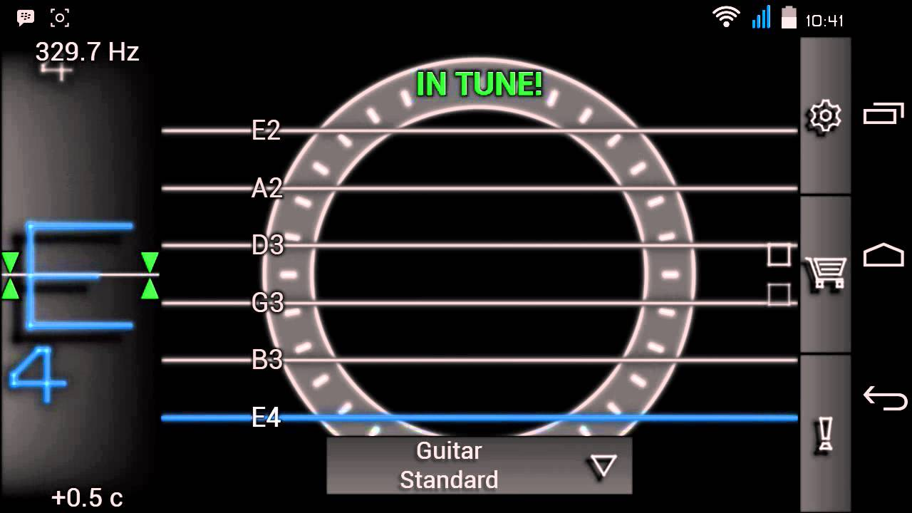 Guitar tuner free guitartuna – apps on google play.