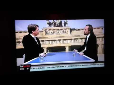 TV Berlin Gespräch von Gunnar Schupelius mit Billy Six
