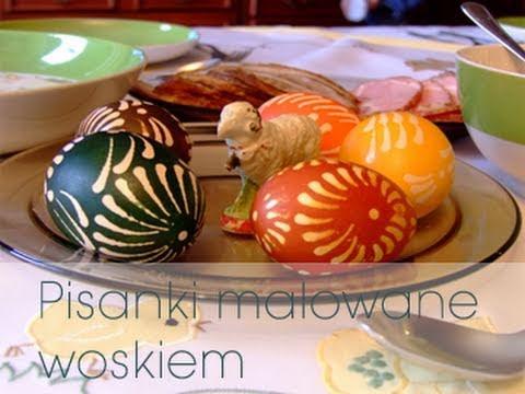 Pisanki wielkanocne malowane woskiem 🖌🔴🥚   Dorota Kaminska