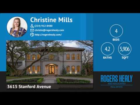 3615 Stanford Avenue University Park, Texas 75225 | Marketing Package Complete!