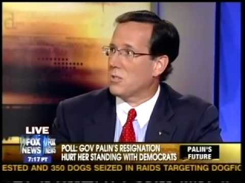 """Fox News' Santorum: In """"mainstream media,"""" conservative African-American is an """"Uncle Tom"""""""