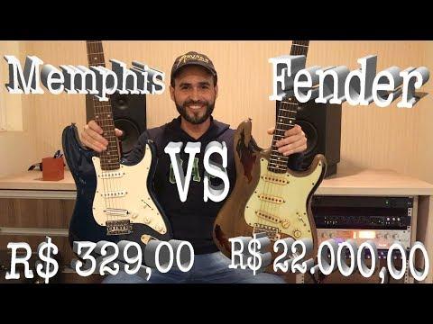 Memphis de R$ 329,00  vs Fender de R$ 22.000,00